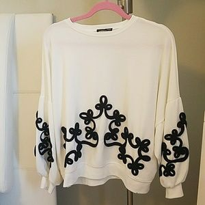 Zara sweater top